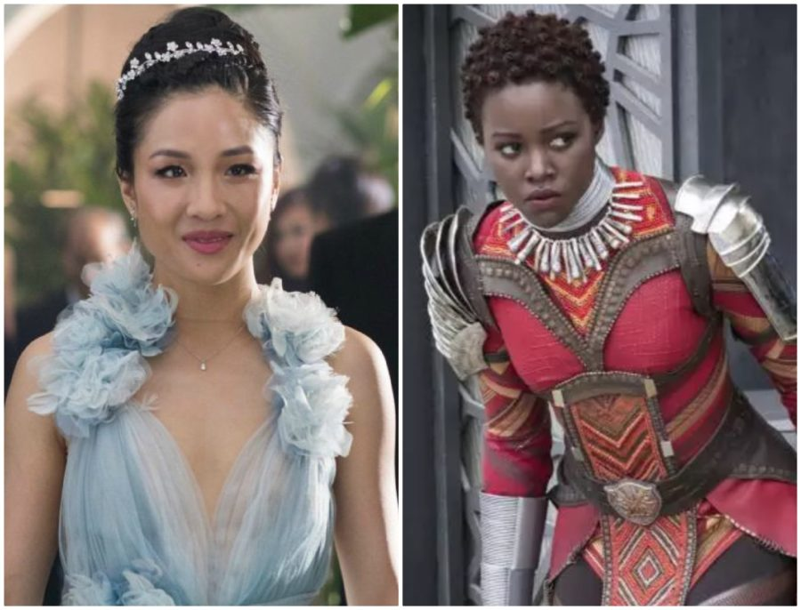 YAS QUEENS: The women of <em>Crazy Rich Asians</em> and <em>Black Panther </em> are on two new stunning <em>EW</em> covers