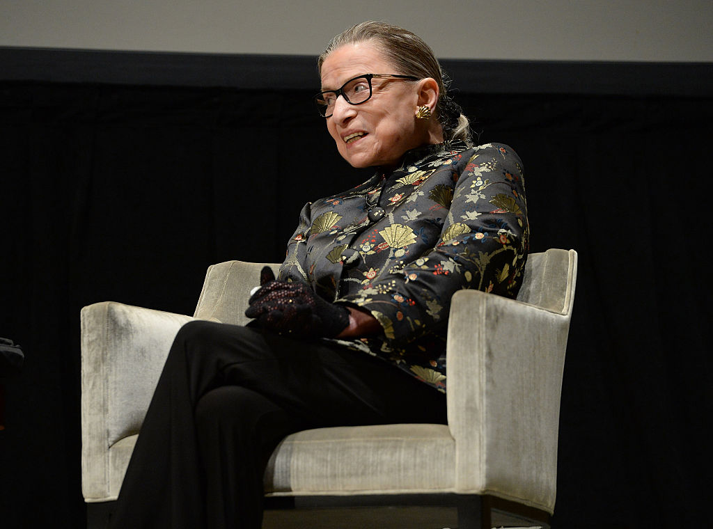 Ruth Bader Ginsburg cringing in this new Supreme Court photo is all of us in a post-Kavanaugh world