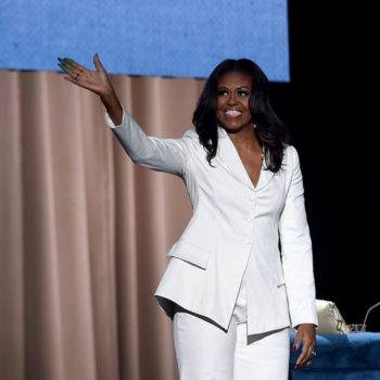 "Michelle Obama got painfully real about women ""having it all"" during the New York stop of her <em>Becoming</em> book tour"