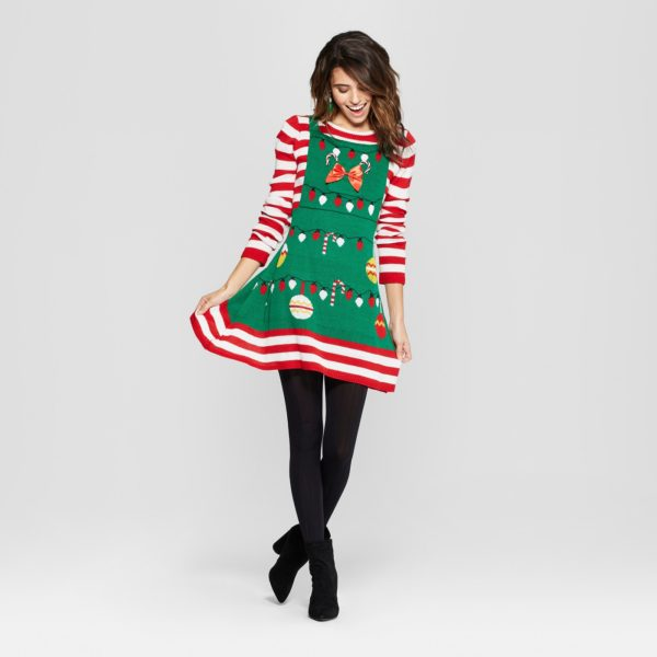 Target Is Selling Ugly Christmas Sweater Dresses For The Holidays