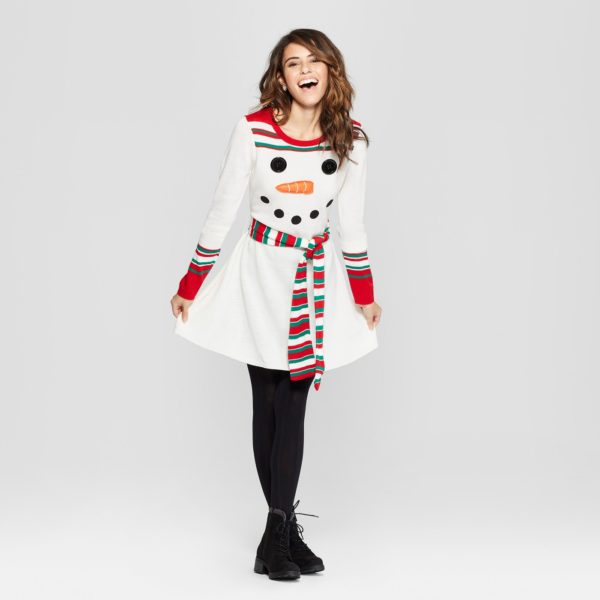 86cd23035a7 Target is Selling Ugly Christmas Sweater Dresses for the Holidays ...