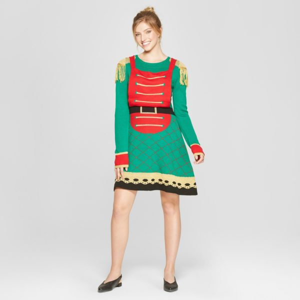 Target Is Selling Ugly Christmas Sweater Dresses For The
