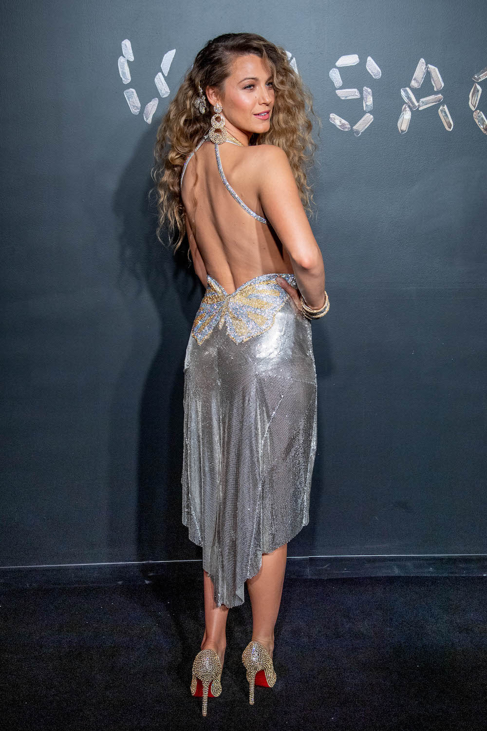 blake lively dazzled on the red carpet in a vintage