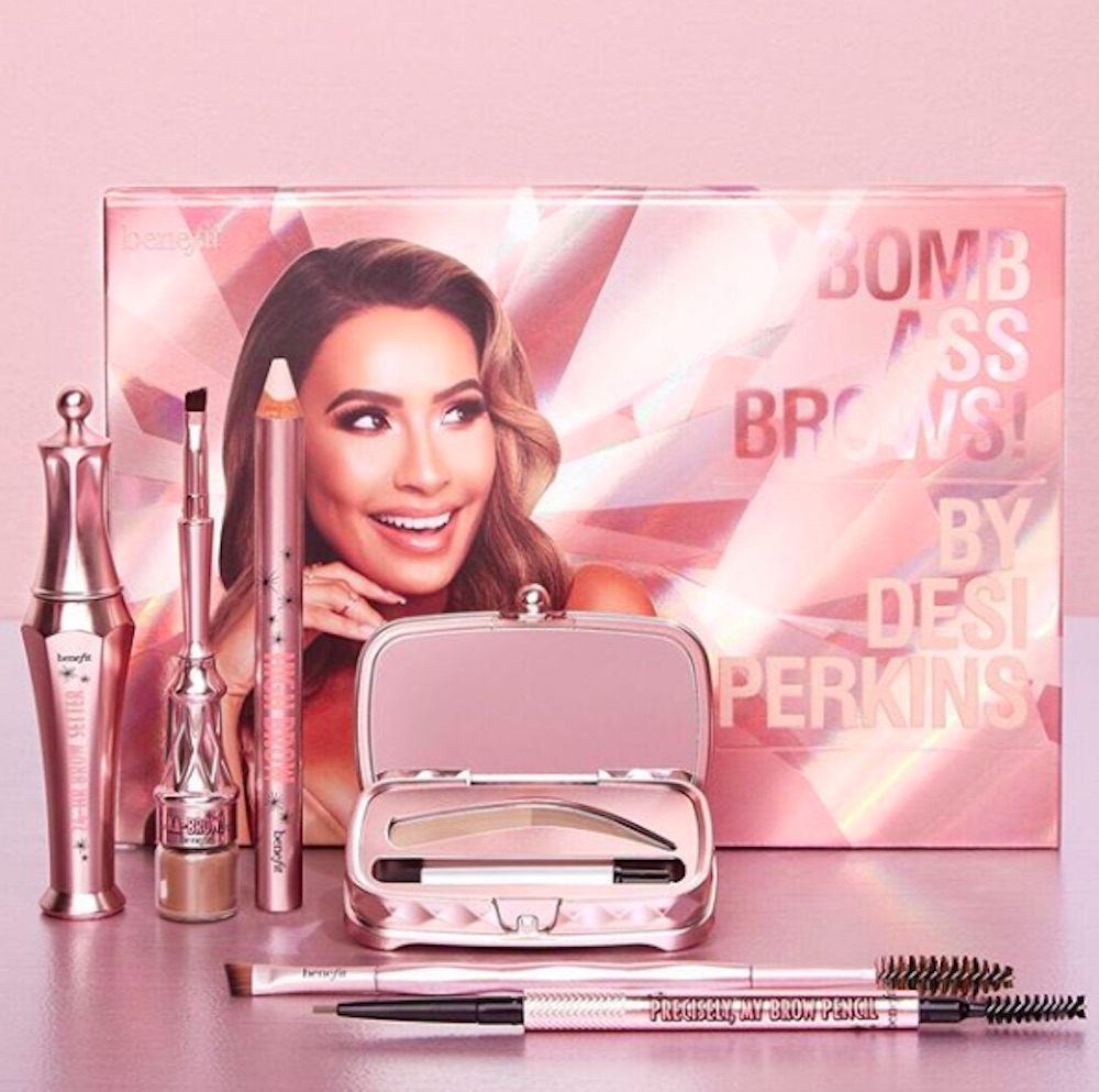 Benefit's sold-out collab with Desi Perkins is coming back, so you won't get bold brow FOMO