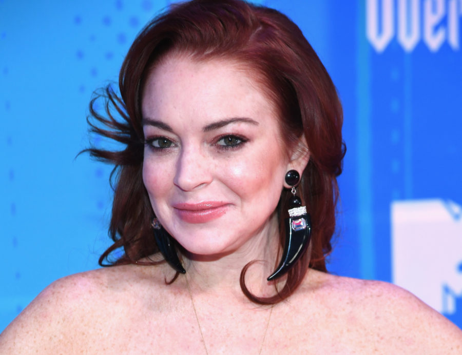 Lindsay Lohan dressed up as Disney princesses and addressed THAT livestream incident in <em>Paper</em>