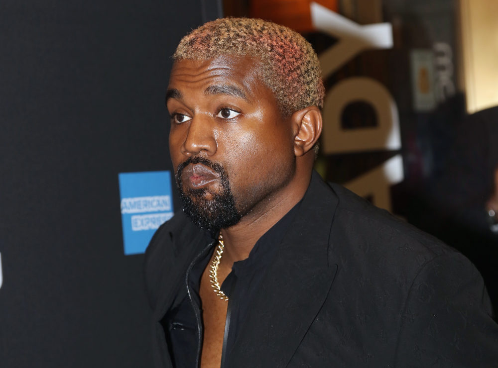A Broadway actor told Kanye West to put his phone away during a live performance