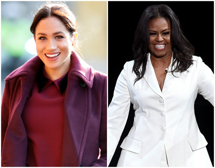 Meghan Markle and Michelle Obama met for the first time, and yas queens
