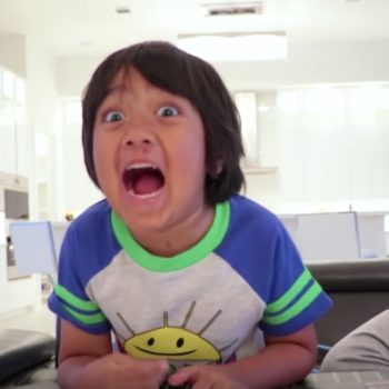 YouTube's top earner is a 7-year-old who made $22 million this year—and we need a minute
