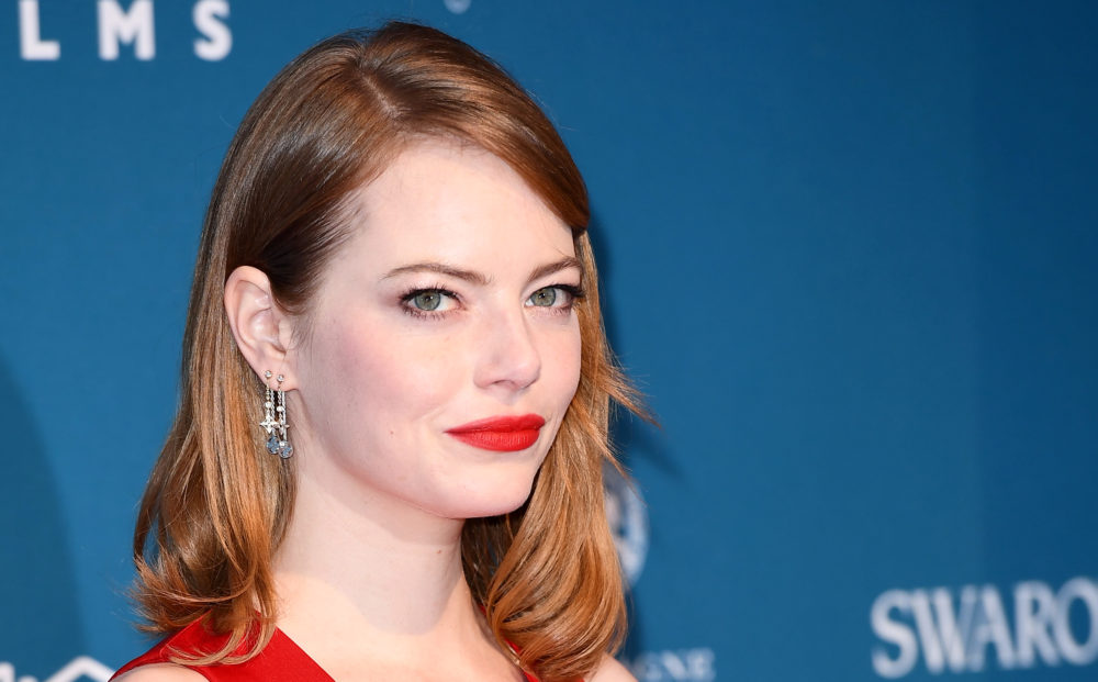 "Emma Stone is playing a ""punk rock"" version of an iconic Disney villain, and life is good"