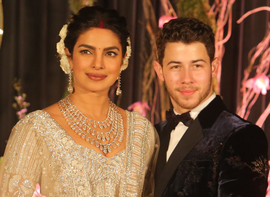 Priyanka Chopra's dramatically long veil was turned into a series of glorious memes