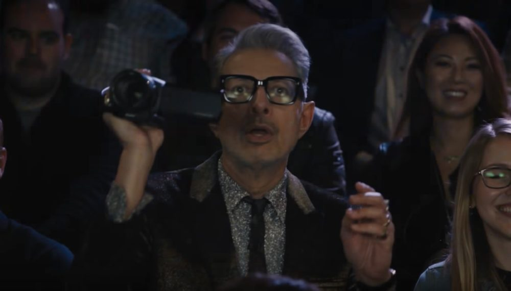 "Jeff Goldblum made a ""Thank U, Next"" parody video, and yes, Ariana Grande approves"