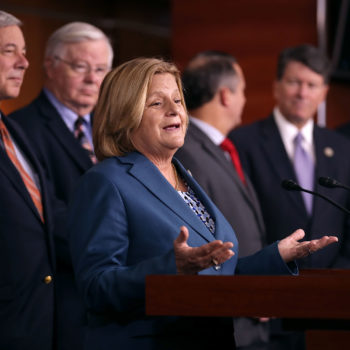 """Female leaders of the GOP are pushing back against men in their party—""""wake up, dudes"""""""
