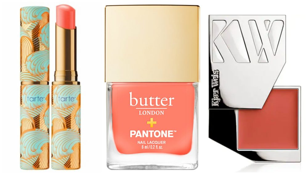 19 beauty products to shop in coral, the 2019 Pantone Color of the Year