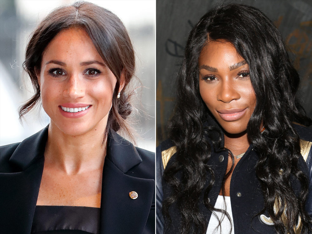 "Serena Williams revealed why she told Meghan Markle to ""stop being so nice"""