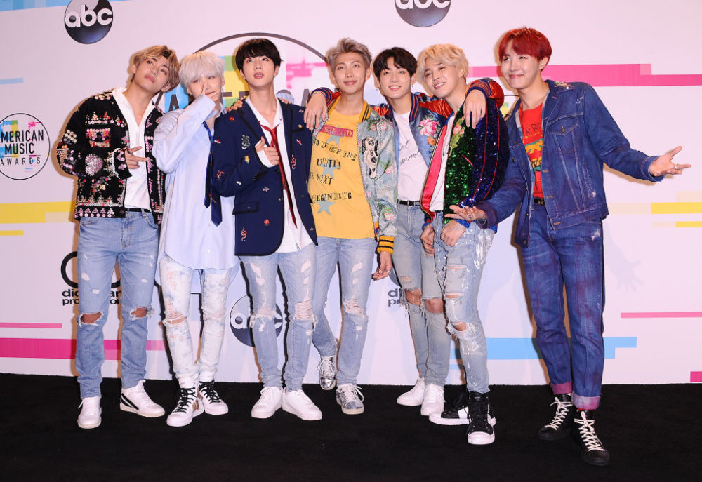 Rejoice! BTS just became the first K-pop group to ever be nominated for a Grammy
