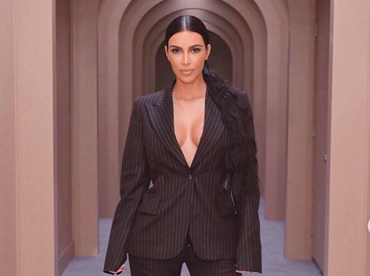Someone wrote a master's thesis on Kim Kardashian—and Kim of course wants a copy