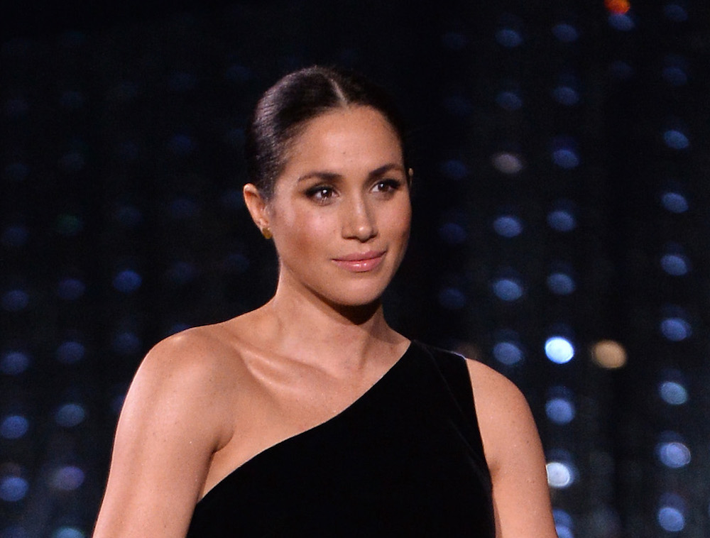 Meghan Markle rebelliously broke royal protocol with her goth nails