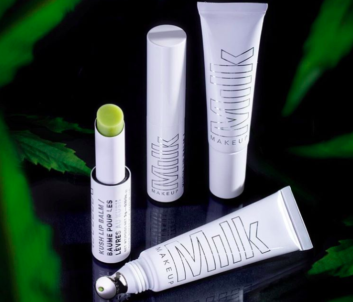 "Milk Makeup just released two cannabis products to keep your lips chronically ""high""-drated"