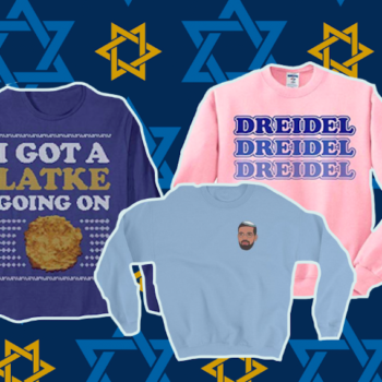 11 sweaters to wear to your office's Ugly Sweater Party if you want to rep your Jewishness