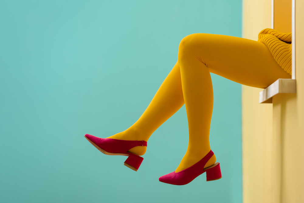 20 bright and funky-printed tights to jazz up your dreary winter outfits