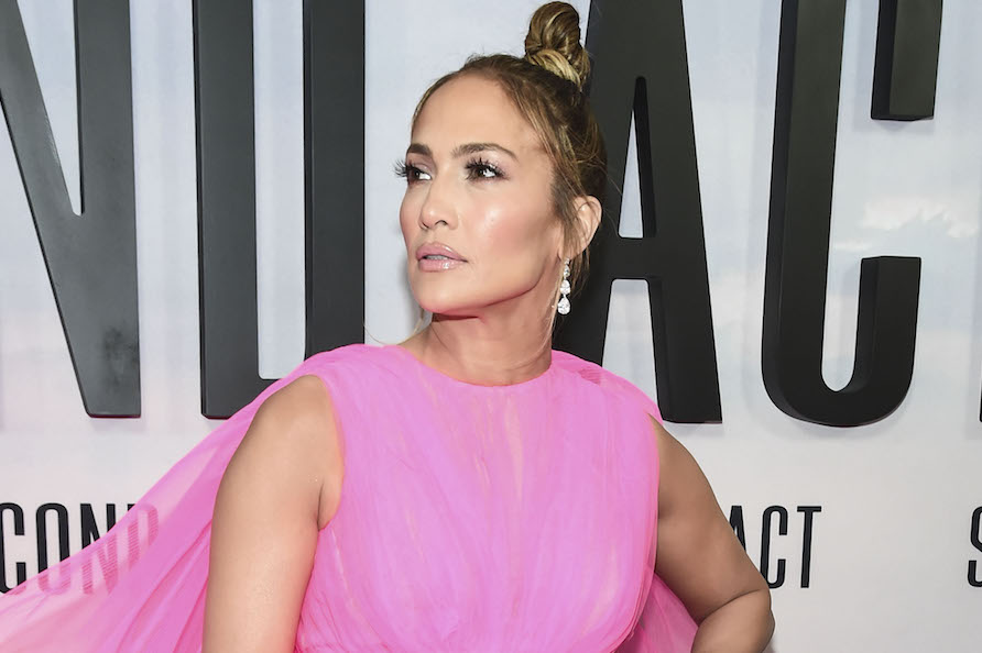 All the things Jennifer Lopez's giant pink dress at the <em>Second Act</em> premiere reminds us of