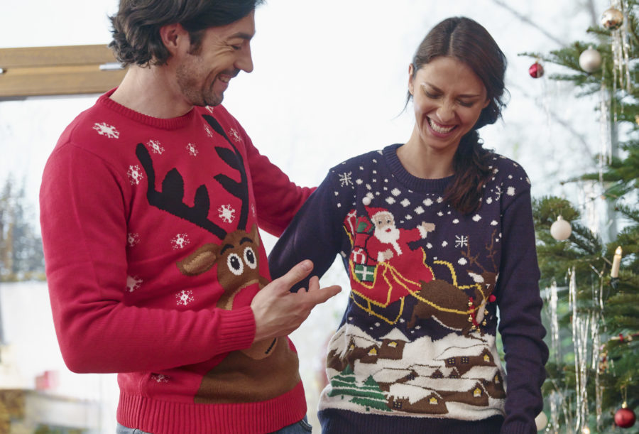 This airline will let you board early if you wear an ugly holiday sweater