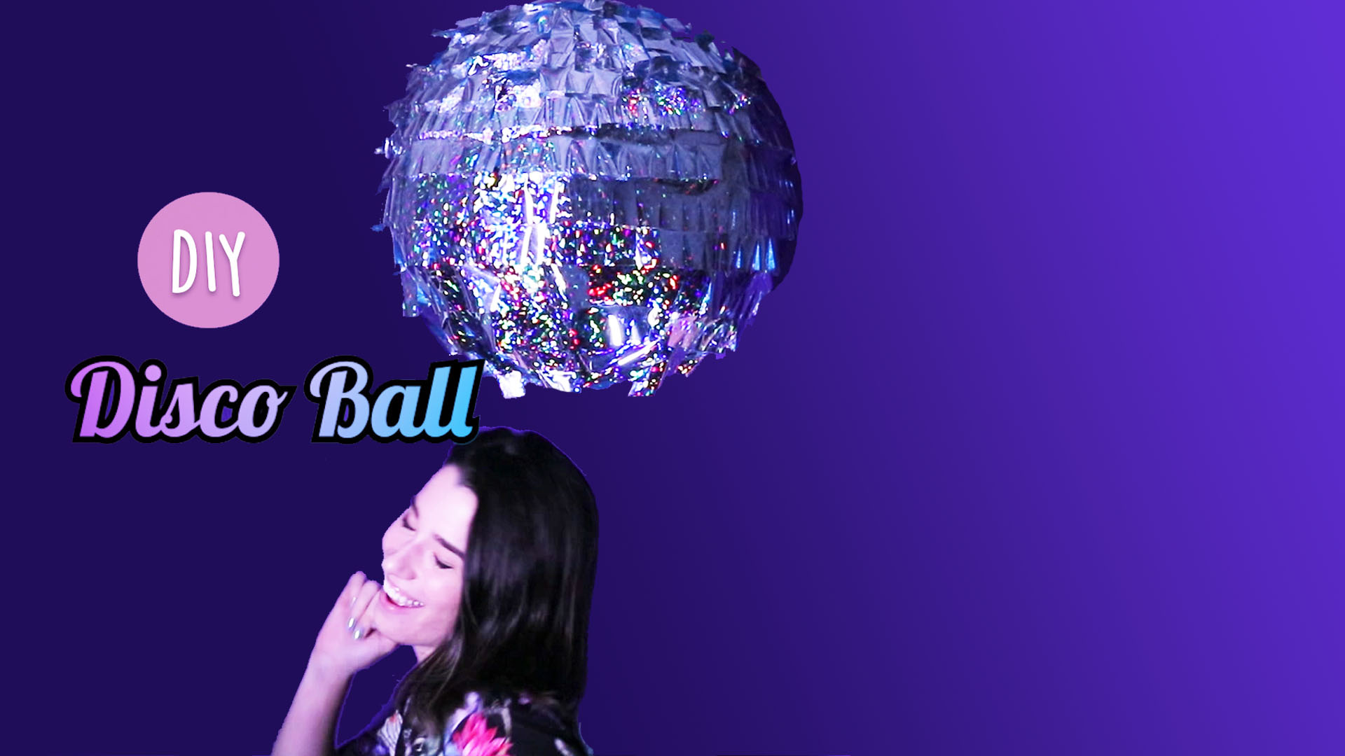 This DIY disco ball will turn your apartment into a night club just in time for New Year's Eve