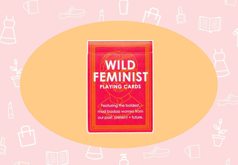 WANT/NEED: A deck of feminist playing cards, and more stuff you want to buy