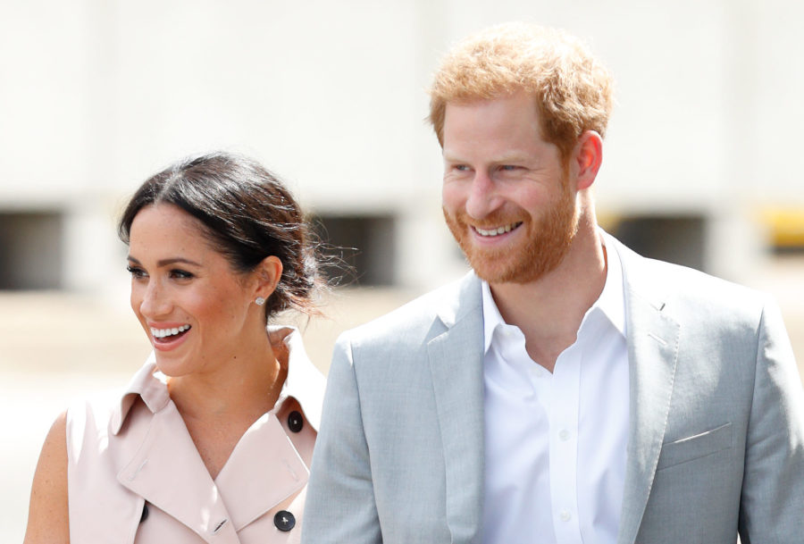 Meghan Markle and Prince Harry will reportedly travel to the U.S. with their new baby
