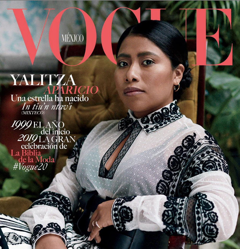 <em>Roma</em> actress Yalitza Aparicio Martinez is on the cover of <em>Vogue Mexico</em>, and here's why that's important