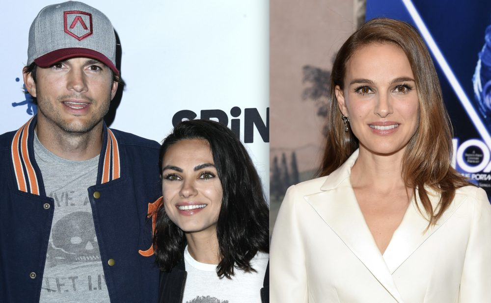 Natalie Portman revealed who's the better kisser: Mila Kunis or Ashton Kutcher