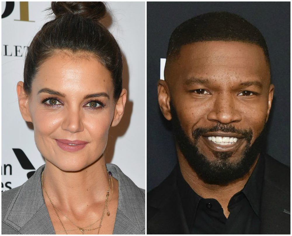 Katie Holmes and Jamie Foxx had a rom com-worthy birthday date
