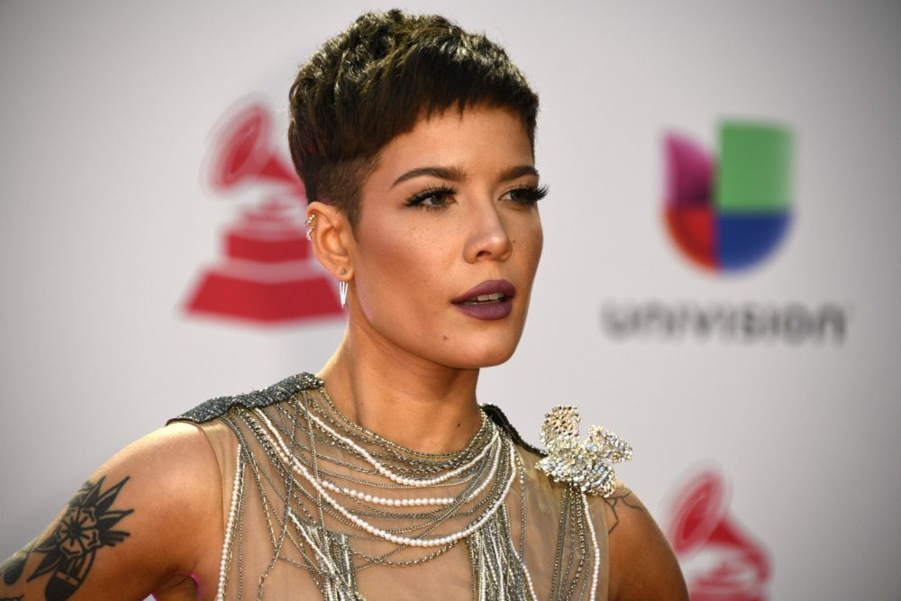 "Halsey responded to backlash over her performance on <em>The Voice</em>, calling the criticism ""homophobic"""