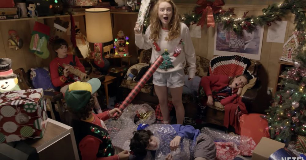 This video of the <em>Stranger Things</em> kids personally wrapping presents for fans is possibly the cutest thing of the decade