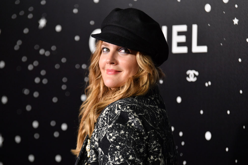 Drew Barrymore posted a raw photo of herself crying to make an important point about social media—and life
