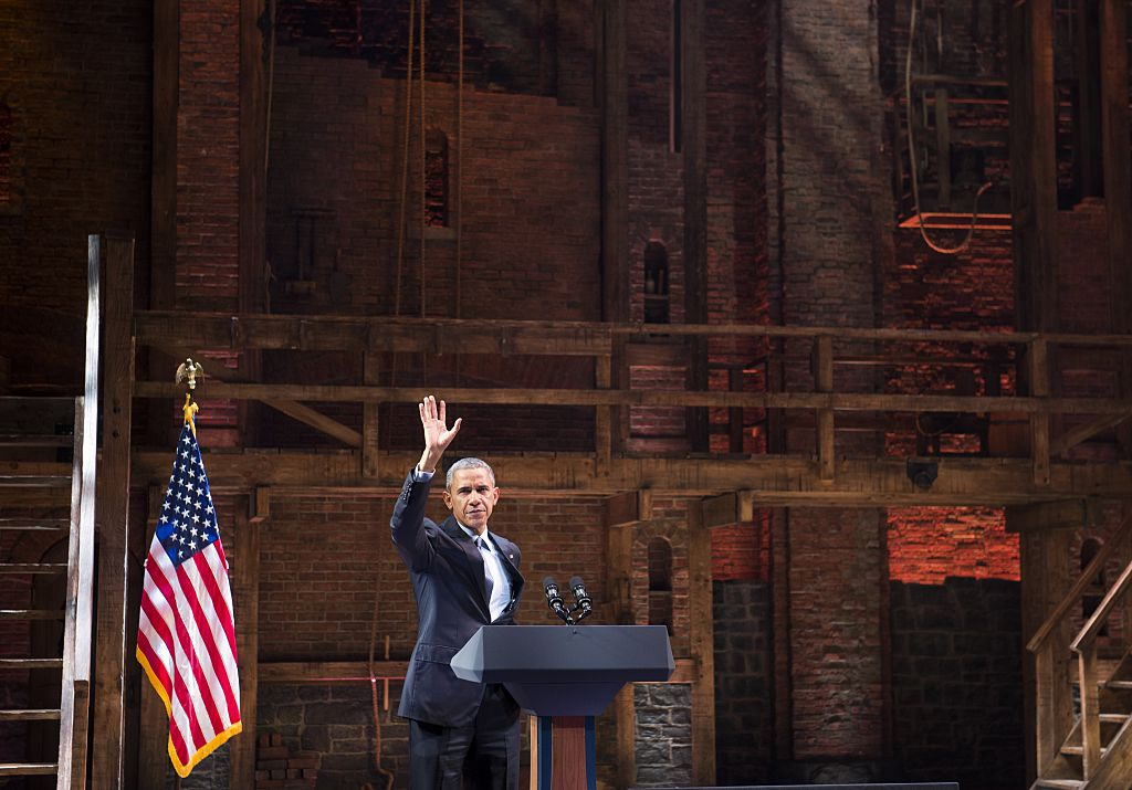 "Lin-Manuel Miranda shared the final ""HamilDrop,"" and it features Barack Obama"