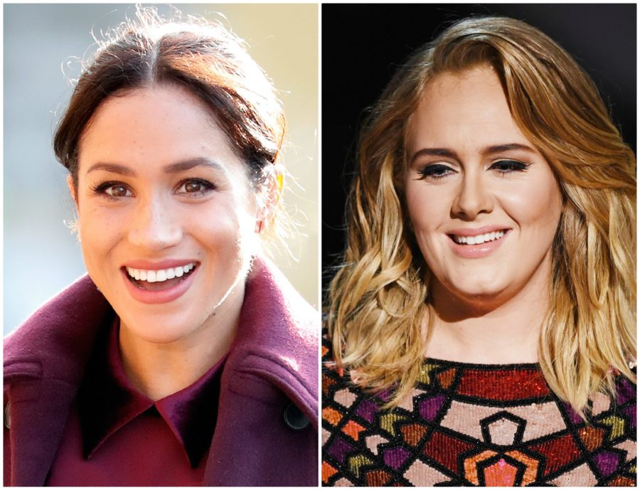 Meghan Markle and Adele secretly hung out, and name a more iconic duo