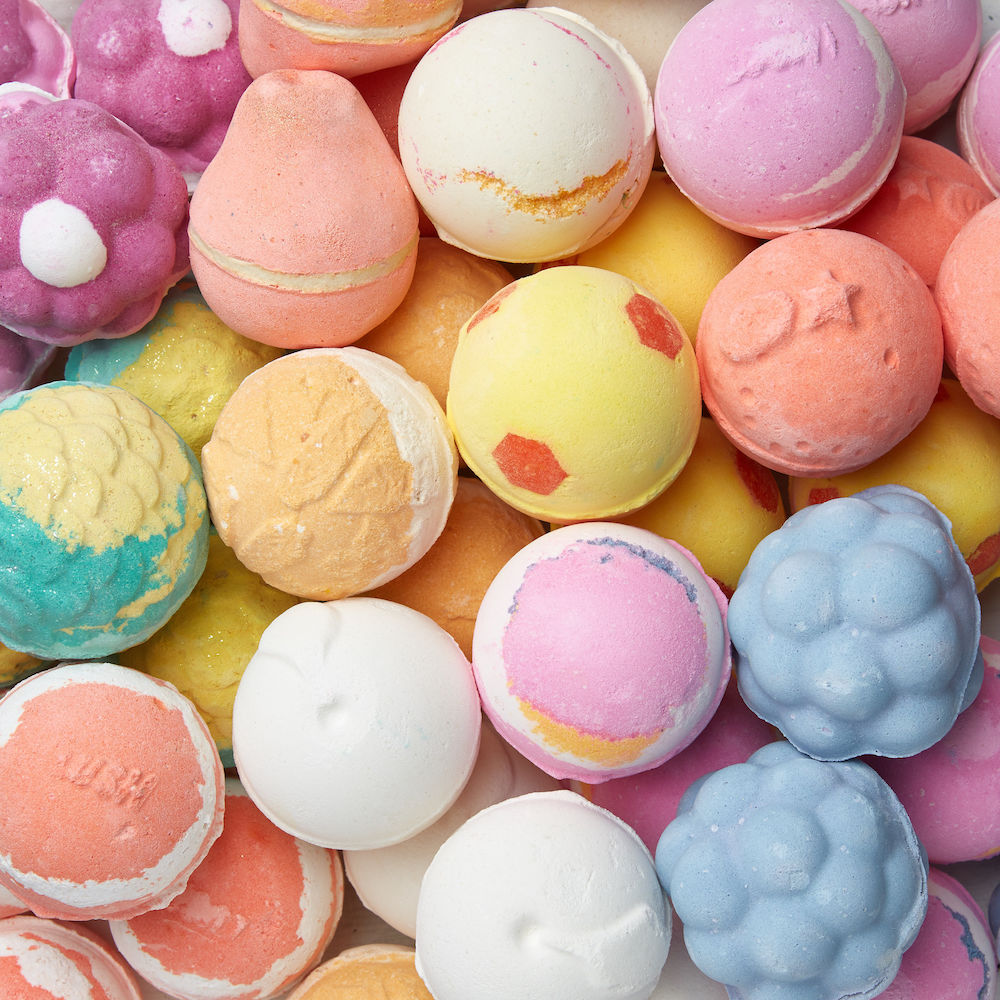 Lush is coming out with bath bombs that smell like its best-selling fragrances