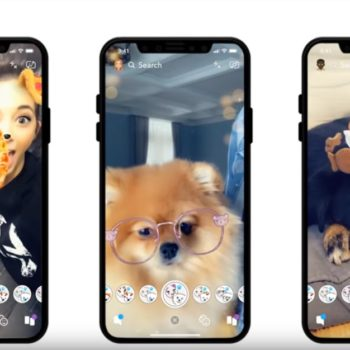 Snapchat released filters for dogs, and they're doggone adorable