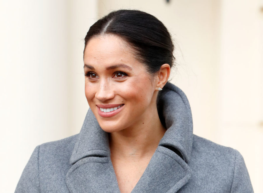 Meghan Markle just teased her due date during a Christmas outing