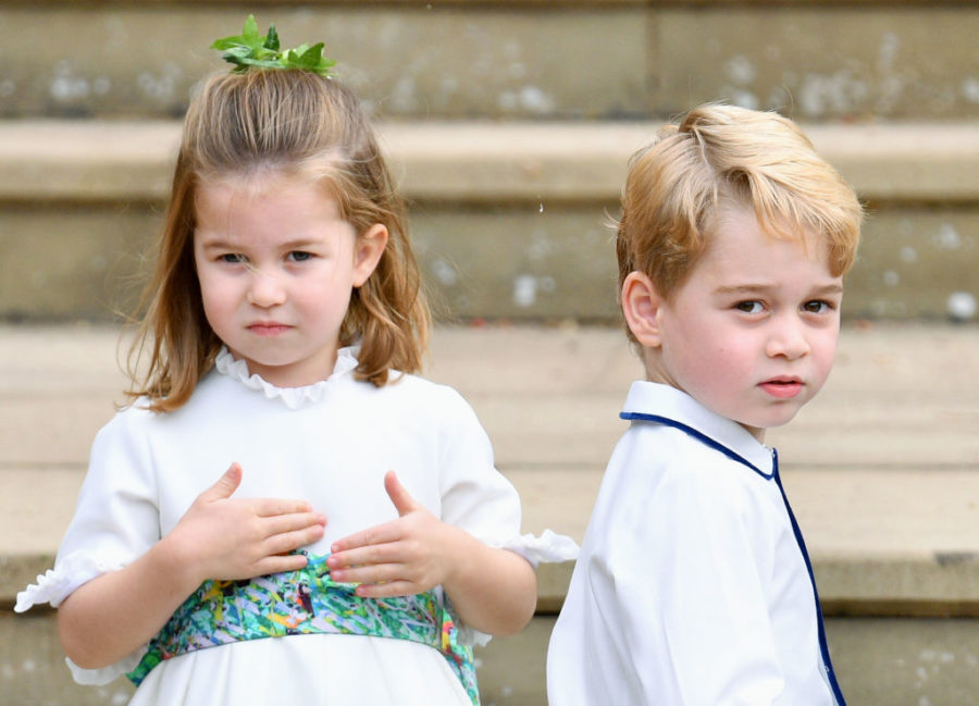 Prince George and Princess Charlotte broke a royal Christmas tradition