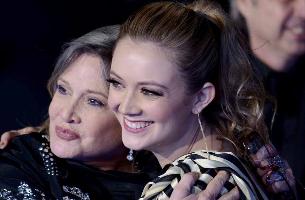 Billie Lourd posted a candid video of herself singing to honor Carrie Fisher on the 2nd anniversary of her death