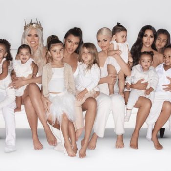 "People are freaking out about the Kardashian Christmas card ""Photoshop fail,"" and can they live?"
