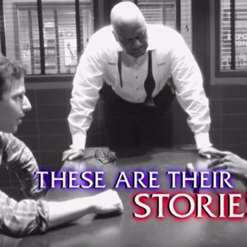 NBC made a <em>Brooklyn Nine-Nine</em> and <em>Law & Order</em> crossover commercial, and can this be real, please?
