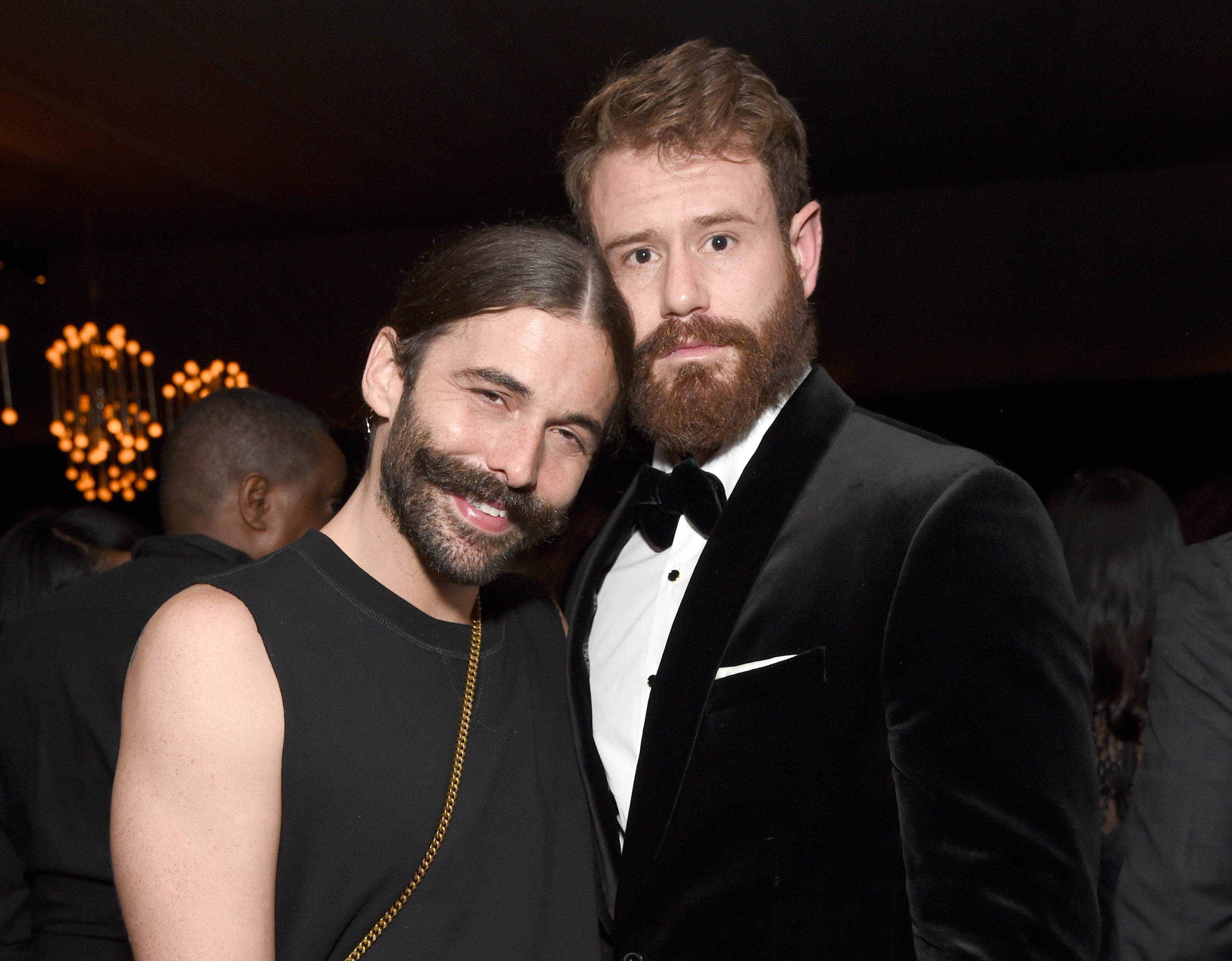 Jonathan Van Ness and his boyfriend have broken up, and JVN has a message for his fans
