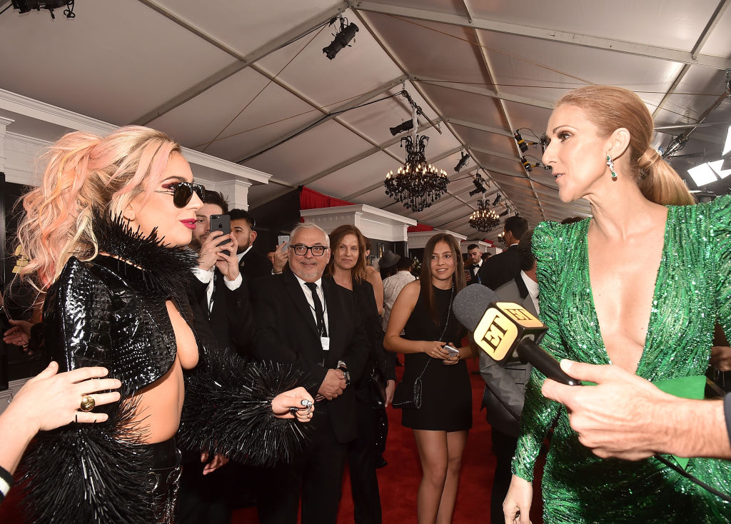This video of Celine Dion dancing full-out at a Lady Gaga concert makes 2018 feel slightly less horrible