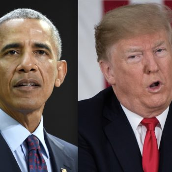 Barack Obama and Donald Trump's New Year's tweets were embarrassingly different (for Trump)