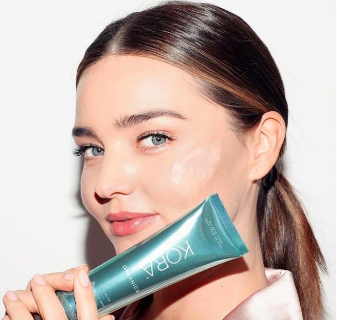 Miranda Kerr's Kora Organics just launched a crystal-infused overnight mask