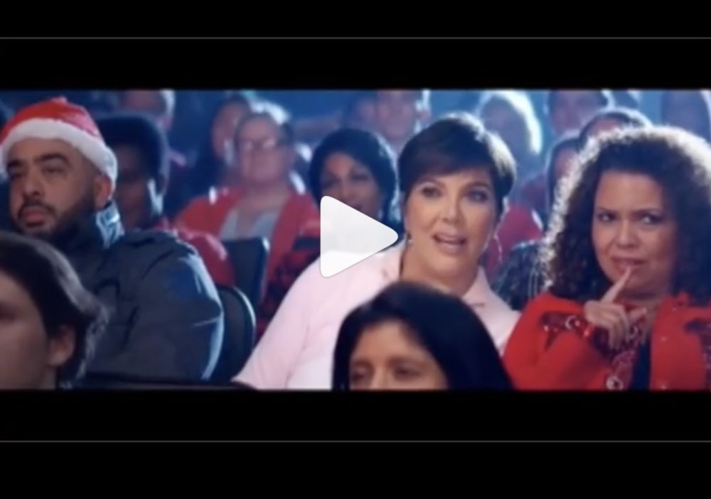 "Kris Jenner 100% steals the show in this behind-the-scenes ""Thank U, Next"" footage"