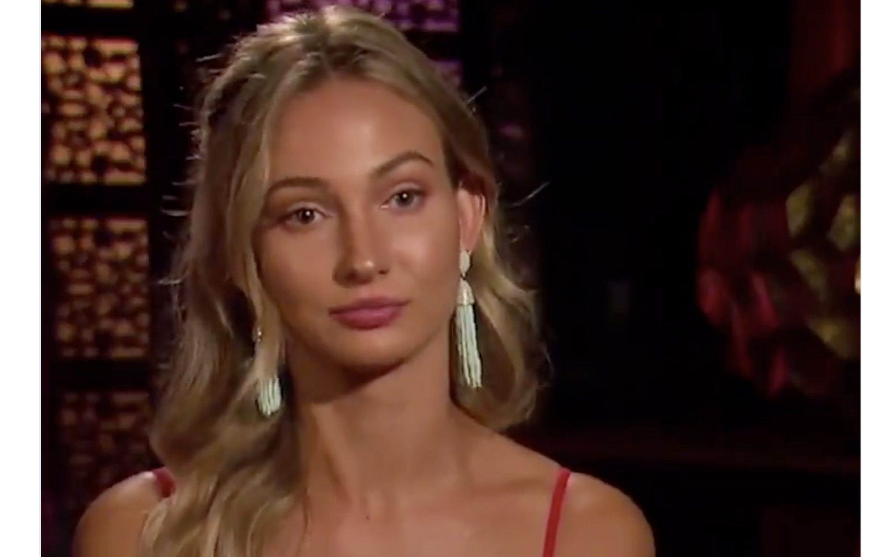 A contestant on the new season of <em>The Bachelor</em> is faking an Australian accent...seriously